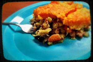Cajun Sweet Potato Shepherd's Pie